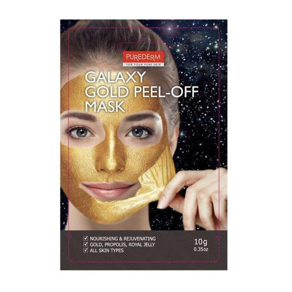 Galaxy Gold Peel-Off Mask (Glitter mask gold)